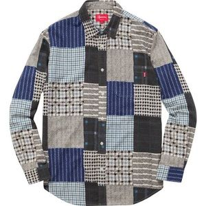Supreme | 15AW Patchwork Flannel
